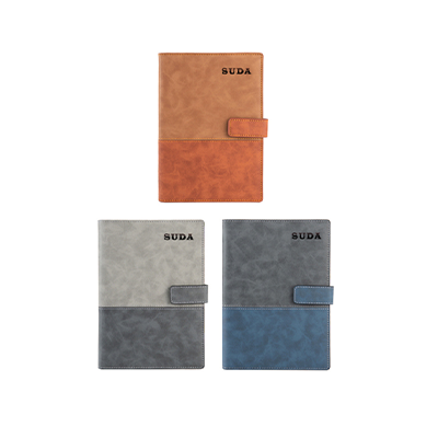 A5 Notebook with PU Leather Cover