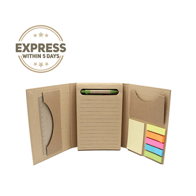 5 in 1 Tri-fold Eco Notepad