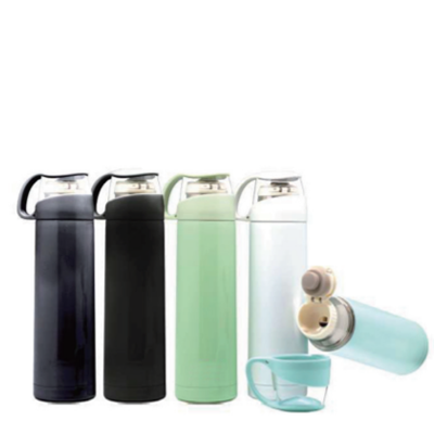 Tea Cup Stainless Steel Vacuum Thermos Flask - 500ml