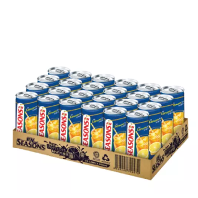 F&N Seasons Lemon Tea 300ml Can Drinks Carton sale (24 cans per carton)