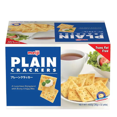 Meiji Plain Crackers