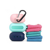 Microfiber Quick Drying Towel with Portable Silicone Case