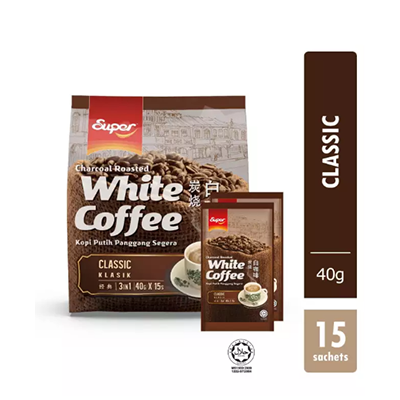 Super 3-in-1 Charcoal Roasted Ipoh White Coffee