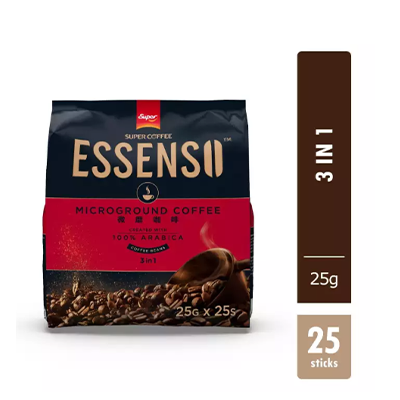 Super Essenso MicroGround Coffee - 3 In 1 Super Essenso