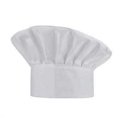 White Cotton Chef Cap