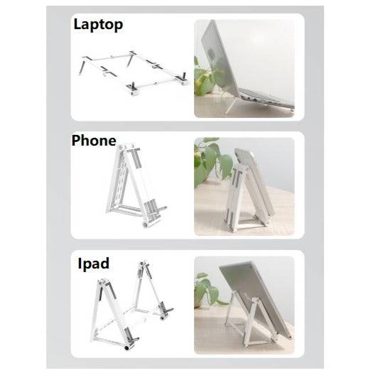 Folable Laptop/Tablet & Phone Stand