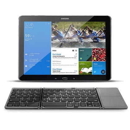 Foldable Keyboard with Touchpad