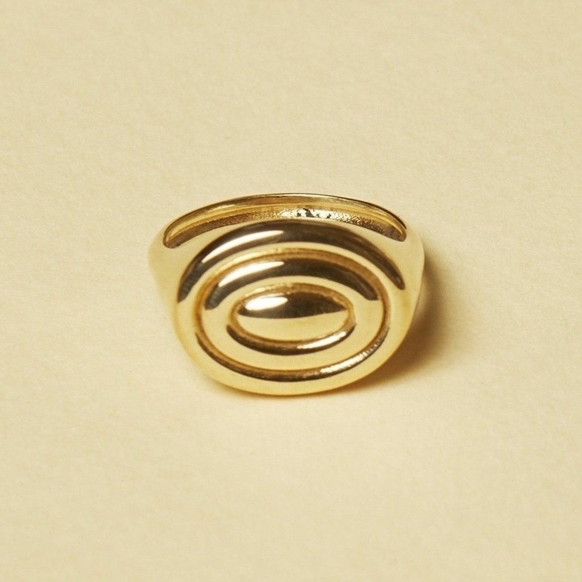 Brianne Sterling Silver Signet Ring
