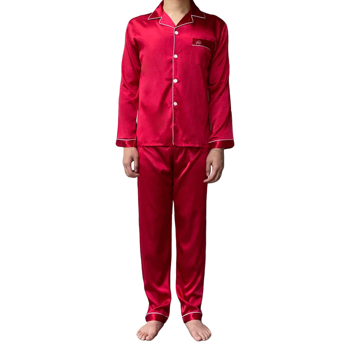 Red Pajamas Set