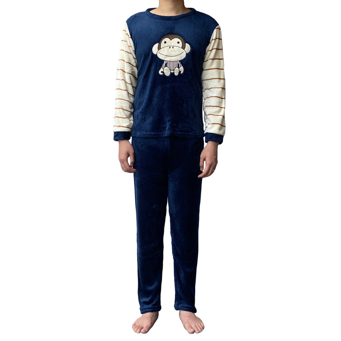 Lazy Dolphins Monkey Pajamas Set