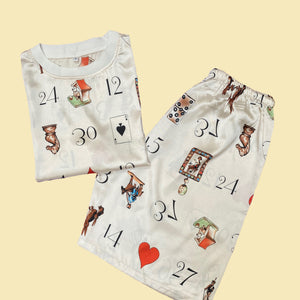 Unique Cards and Hearts clothing set