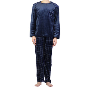 Grid Pattern PJ Set