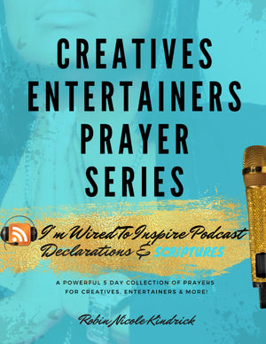 CREATIVES ENTERTAINERS DECLARATIONS|  SCRIPTURES DIGITAL EBOOK