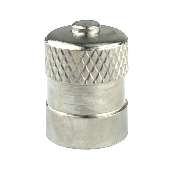 Haltec metal Dome Type Valve Cap with Inner Seal