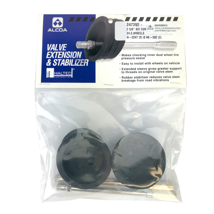 Alcoa 247392 Stabilizer Extension Kit for 24.5 wheel center hole H-2247 HE-392