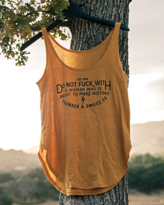 DON'T FUCK WITH A WOMAN FESTIVAL TANK