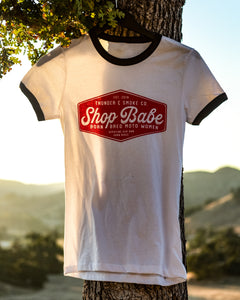 SHOP BABE T-SHIRT