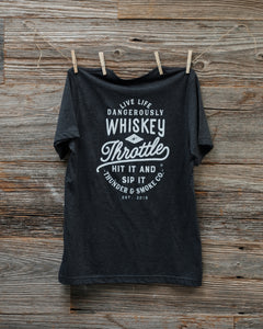 WHISKEY THROTTLE JERSEY T-SHIRT