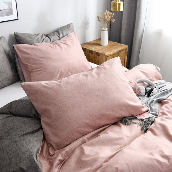 Two-color Skin Texture Pillowcases #LB006