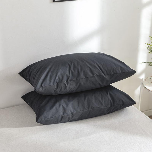 Waterproof Polyester Solid Color Pillowcases #LB003