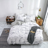 Marbling Pure Cotton Duvet Cover Sets