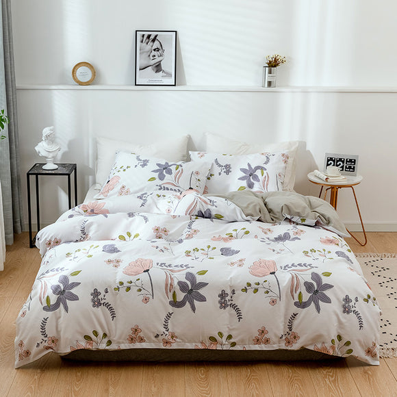 Flowers Pure Cotton Duvet Cover Sets