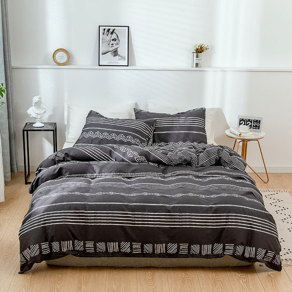 Stripe Pure Cotton Duvet Cover Sets