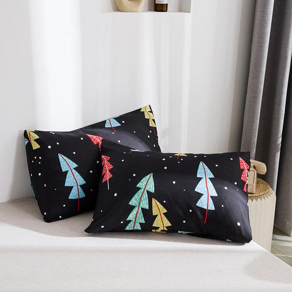 Pine Graffiti Painting Pillowcases #LB023