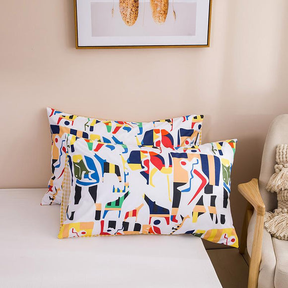 Abstract Painting Animal Abstractism Pillowcases #LB024