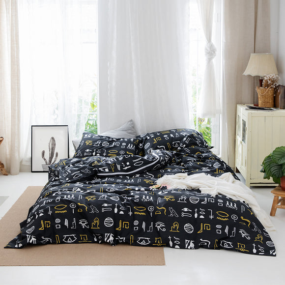 Oracle Pure Cotton Duvet Cover Sets #LB039