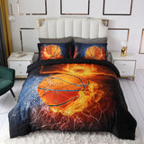 Basketball Football Baseball Kids Duvet Sets #LB022