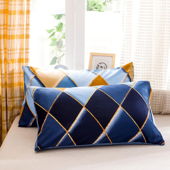 Diamond Pattern Pillowcases #LB016