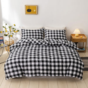 Lattice Chessboard Duvet Cover Sets