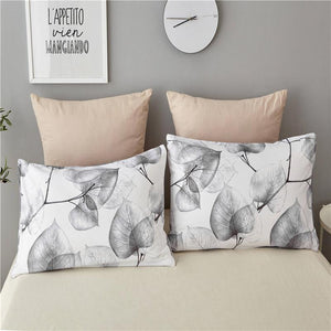 White Birch Leaves Pillowcases #LB010