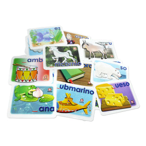 Flash Cards Abecedario - Educatodo  - Juego de mesa