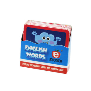 Memory Game English Words-Weather - Educatodo  - Juego de mesa