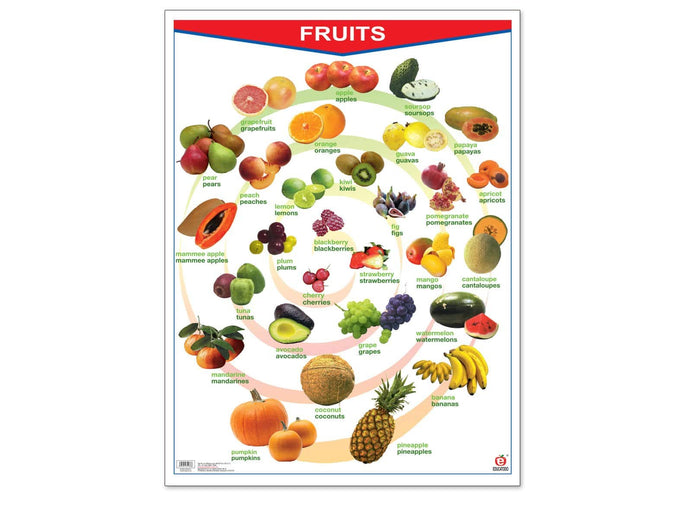 Póster Fruits/Vegetables