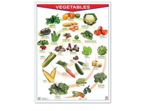 Póster Fruits/Vegetables - Educatodo  - Póster