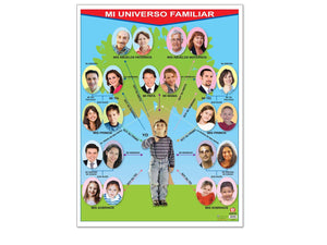 Póster Mi Universo Familiar - Educatodo  - Póster