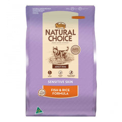 Nutro Natural Choice Dog Adult Sensitive Skin Fish Rice 15kg