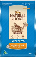 Nutro Adult Lge Breed Chicken Rice 8kg