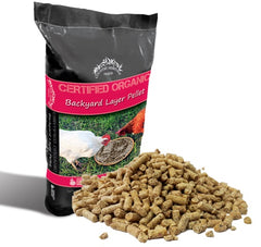 Organic Backyard Layer Pellet 3 for $130