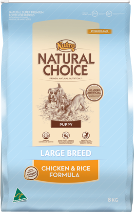 Nutro Natural Choice Large Breed Puppy Chicken & Rice 8kg