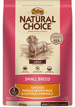 Nutro Natural Choice Adult Small-Toy Chicken & Rice 3kg
