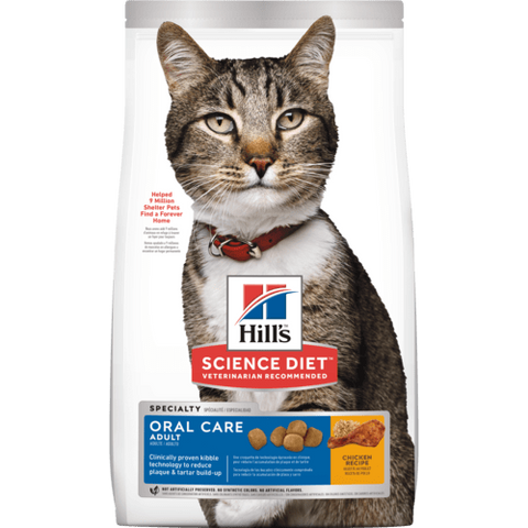 Hills Cat Oral Care Adult 4KG