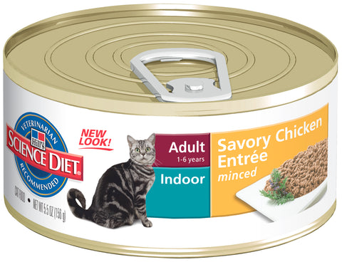 Hills Cat Adult Hairball Control 24X156G