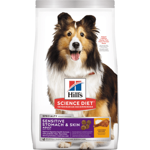 Hills Dog Adult Sensitive Stomach & Skin 1.81kg