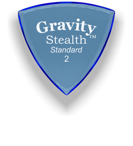 Stealth standard 2mm blue polished - GYBX