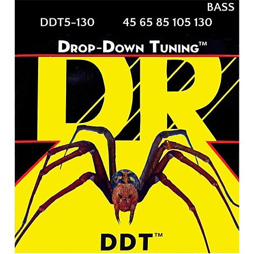 Dr strings drop down tuning 5 cuerdas 45-130
