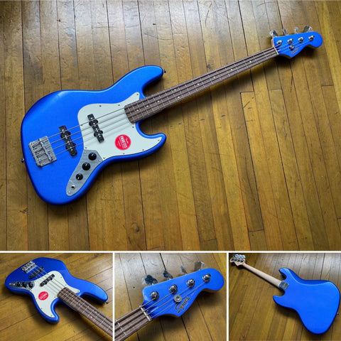 SQUIER CONT JAZZ BASS BLUE - GYBX